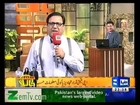 Hasb e Haal 9th March 2013 (09-03-2013) On Dunya News With Azizi & Najia Full Comedy Talk Show