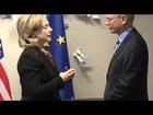 Hillary Clinton meets Herman van Rompuy