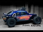 HOT WHEELS! Custom Painted Axial Exo Terra - VW Baja Bug
