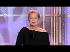 Golden Globes 2010 Meryl Streep Best Actress Motion Picture Comedy