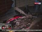 QRT: Motorsiklo, wasak matapos mabangga ng kotse sa QC; Rider, sugatan
