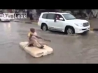 Huge flood in Saudi Arabia - to travel to the flood