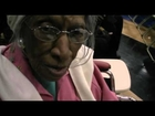 103-yr-old Ruth Wrench Hears President Obama's Speech