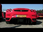 Ferrari F430 w/ Capristo Exhaust & Testpipes Revving!! - 1080p HD