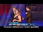 Nancy Grace Nip Slip on Dancing With The Stars 2011