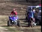 Poto zinna 1 tour 1 chute moto cross 125 ktm