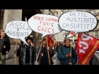 French unions call for rethink on austerity measures