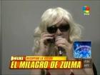 Zulma Lobato operada de la vista